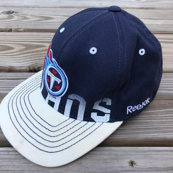 Reebok Hats Titans NFL Youth Cap ONFIELD Blue 694c46ba3e8